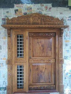 Surya Palagai Design for Main Door Single Main Door Designs, House Main Door Design, Wooden Front Door Design, Main Entrance Door Design, Double Door Design, Main Gate Design, Door Gate Design, Room Door Design, Door Design Interior