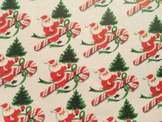 1950s wrapping paper