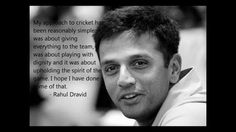 Rahul Dravid deserves just as much credit as India&39s little master ...