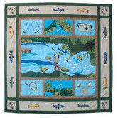 Found it at Wayfair - Fly Fishing Cotton Shower Curtain