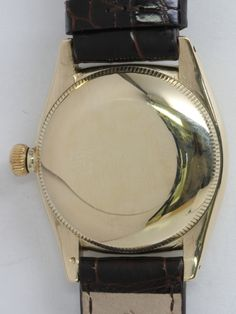 Rolex Yellow Gold Bubbleback Wristwatch with California Dial circa 1940s image 4