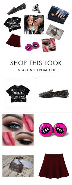 """Grav3yardgirl (Bunny)"" by internetjunkie ❤ liked on Polyvore featuring beauty, Killstar, UNIF and Blind Spot"