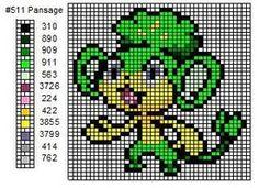Pokemon Cross Stitch by cdbvulpix on deviantART