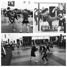 Muay Thai pads class. The Academy. Brooklyn Center, Minnesota. Muay Thai, BJJ, Kali, Mixed Martial Arts, Judo, JKD, Self Defence www.theacademymn.com/ @mmaacombatzone #theacademymn #teamacademy #theacademy #martialarts #martialartsgyms
