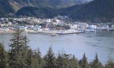 #Juneau View from the mountain #Alaska