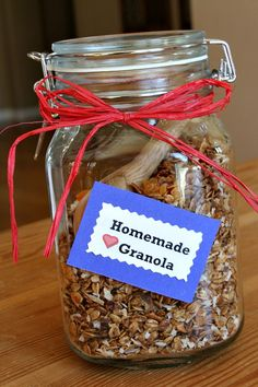 Granola :) don't add any of the fruits or coconut and increase the oats to make the measurement for yogurt topping granola. YUMMY!!!