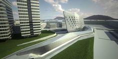 Eusko Tren Central Headquarters Zaha Hadid
