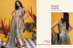 Ethnic By Outfitters Lawn 2Piece Collection 2017  http://www.womenclub.pk/ethnic-outfitters-lawn-2piece-collection-2017.html  #Ethnic #EthnicByOutfitters #Lawn #2piece #Collection #Outfitters #Pret