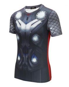 The Avengers Thor costume t shirt for men short sleeve