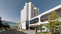 St. Joseph's Hospital - 1969-74 by Bertrand Goldberg - #architecture #googlestreetview #googlemaps #googlestreet #usa #tacoma #brutalism #modernism