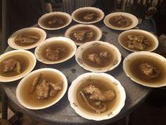 Szilveszteri kocsonyát főztünk. Kész!
