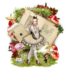 Oh Alice, created by elsabear on Polyvore