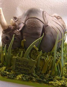 Rhinoceros Cake