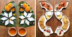 Food photographer Michael Zee creates matching meals for himself and his husband. He shares his food photography on his Instagram, SymmetryBreakfast.