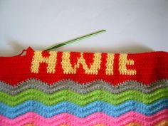 Tutorial: how to crochet alphabet letters.