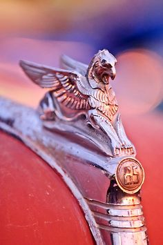 1932 Essex Griffin Hood Ornament