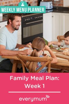 Planning your meals for the week will save you time and effort. So take the pressure off, browse through our meal plan ideas, and be inspired! Family Meal Planning, Family Meals, Weekly Menu Planners, Done With Life, Fun Cooking, Meals For The Week, Family Life, Effort, Diet Recipes