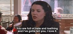 i love this, is it sad that i wish i was a gilmore girl?