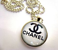 Designer Images Chanel Chanel glass necklace1 by Mckeejewelrybeads, $8.95