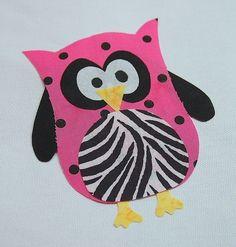 Owl Applique