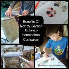 Benefits Of Nancy Larson Science Homeschool Curriculum - The Home School Scientist