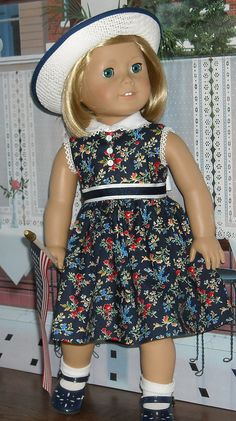 Kit navy:white 1 by Sugarloaf Doll Clothes, via Flickr
