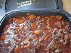 Beef stew with ultra pro - Tupperware - - Cooking Ribeye Steak, Cooking Pork Roast, Cooking Tofu, Cooking Meme, Cooking Movies, Cooking Recipes, Cooking Fresh Green Beans, Cooking Dried Beans, How To Cook Kale