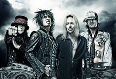 Motley Crue.....30 years later and still rockin'. I think they've tapped in on the fountain of life.