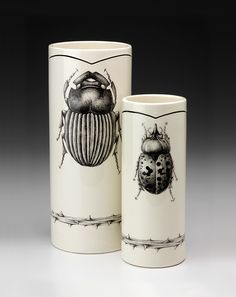 Vase: Beetles