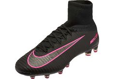 timeless design 49bc6 139c8 Nike Mercurial Superfly II AG-Pro Soccer Cleats - Black - SoccerPro.com