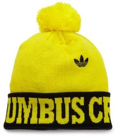 MLS Columbus Crew, Cuffed Pom Knit Hat, One Size Fits All, Yellow adidas. $16.30. Save 29% Off!