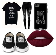 """#emo"" by tigeress-fashion ❤ liked on Polyvore featuring Casetify"