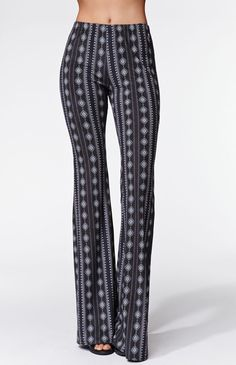 e2da85e8e13f6e The women's High Rise Soft Flare Pants by Kendall & Kylie have ultra  soft fabric