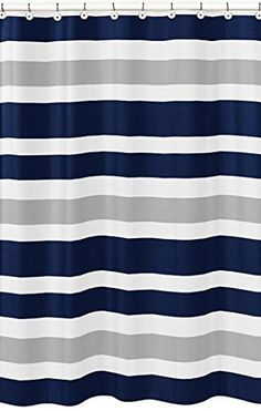 #bath Create an easy bathroom makeover with this #Sweet #Jojo Designs shower curtain. Add a touch of style and a splash of color to your bathroom with this design...
