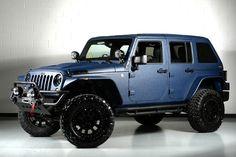 midnight blue kevlar paint job jeep - Google Search