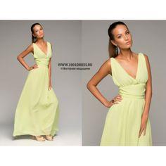 платья цвета лайма фото
