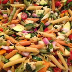 Healthy Pasta Salad#Repin By:Pinterest++ for iPad# Healthy Pasta Salad, Healthy Pastas, Healthy Dishes, Healthy Cooking, Healthy Food, Yummy Food, Vegetarian Recipes, Snack Recipes, Cooking Recipes