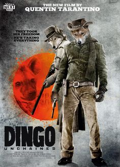 Oscar-Nominated Film Posters, With Animals | The Mary Sue: Django Unchained