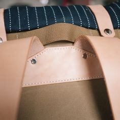 Our packs are made from Martexin, a proprietary waxed cotton canvas from Martin Dyeing & Finishing Co (est 1838).