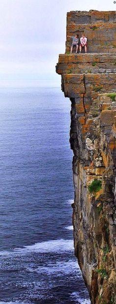 Daredevil Cliffs, In