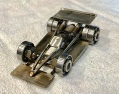 Stainless Indy Formula Race Car