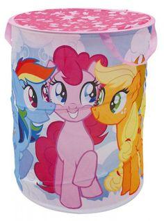 Contentitore Portagiochi Pieghevole e Salvaspazio My Little Pony per la…