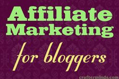 introduction to affiliate marketing for bloggers