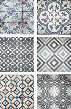 Bathroom tiles ideas blue kitchen backsplash New ideas Grey Bathroom Tiles, Grey Bathrooms, Bathroom Flooring, Bathtub Tile, Small Bathtub, Attic Bathroom, Bathroom Vanities, Blue Tiles, Tile Patterns