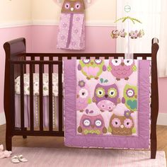 Owl Wonderland 4pc Bedding Set 390118423 Baby Sets