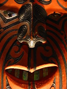 Maori Treasures Gallery - Auckland Museum, New Zealand Maori Face Tattoo, Maori Tattoos, Maori Tribe, Cultural Crafts, Maori People, Maori Tattoo Designs, Maori Art, Different Tattoos, Tatoo