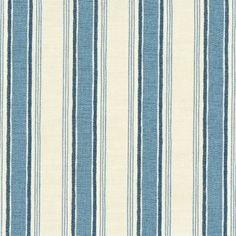Vanessa Arbuthontt - Deckchair Stripe Forget-me-not and Denim