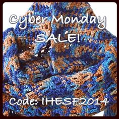Today Only! #cybermonday #sale 15% off all Ready To Ship items/orders, no minimum! Code IHESF2014 in my shop! www.etsy.com/shop/threadsbyionyka #ihesf2014 #sfetsy