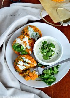Red Lentil Patties with a Garlic-Herb Tahini Sauce (vegan, gluten-free). We go veggies again today with these red lentil patties served with a garlic-herb tahini sauce. Both vegan and gluten-free, they are bursting with savory flavors, hearty texture, and oodles of plant-based protein. #recipes #healthyrecipes #veganrecipes #healthyliving #wellnesstips