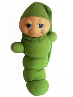 Glow Worm--had one of these little guys when I was just a wee tot! still think they are super cute!